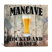 "iCanvas ""Mancave III"" Cancas Wall Art by Mindy Sommers"
