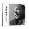 iCanvas Icons, Heroes and Legends Martin Luther King Jr. Quote Photographic Prints on Canvas