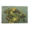 iCanvas 'Mand Met Viooltjes' by Vincent Van Gogh Painting Print on Cancas