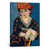 iCanvasArt 'Le Madras Rouge or Red Madras Headdress (1907)' by Henri Matisse on Canvas