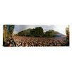 iCanvas Panoramic Marathon Runners, Paris, France Photographic Print on Canvas