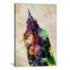 iCanvasArt 'London Big Ben' by Michael Tompsett Graphic Art on Canvas