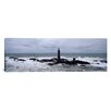 iCanvas Panoramic Graves Light, Boston Harbor, Massachusetts Photographic Print on Canvas