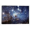 iCanvasArt Astronomy and Space 'LH-95 Stellar Nursery (Hubble Space Telescope)' Photographic Print on Canvas