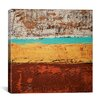 "iCanvasArt ""Lithosphere XVIII"" Canvas Wall Art by Hilary Winfield"