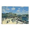 iCanvas 'Le Pont Neuf (Paris)' by Pierre-Auguste Renoir Painting Print on Canvas