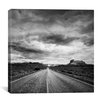 "iCanvas ""Long Stretch of Road #2"" Canvas Wall Art by Dan Ballard"