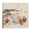 "iCanvas ""Lost-Love Shell (Katashigai)"" Canvas Wall Art by Katsushika Hokusai"