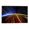 iCanvasArt Astronomy and Space 'Long Exposure Star Photograph from Space II' Graphic Art on Canvas