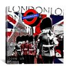 "iCanvas ""London #2"" Graphic Art on Canvas by Luz Graphics"
