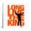 <strong>Long Live the King (Elvis Presley) Canvas Wall Art</strong> by iCanvasArt