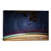 iCanvasArt Astronomy and Space ''Long Exposure Star Photograph from Space V'' Graphic Art on Canvas