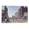 iCanvas 'Los Angeles, 2nd and Broadway' by Stanton Manolakas Painting Print on Canvas