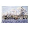 iCanvas 'Long Wharf, Santa Monica' by Stanton Manolakas Painting Print on Canvas