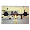 iCanvas Astronomy and Space ''Lockheed SR-71 Blackbird'' Photographic Print on Canvas