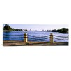 iCanvas Panoramic Lake in a City, Lake Merritt, Oakland, California Photographic Print on Canvas