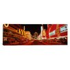 <strong>iCanvasArt</strong> Panoramic 'Las Vegas Nevada' Photographic Print on Canvas
