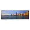 iCanvas Panoramic Lake Michigan Chicago Illinois Photographic Print on Canvas