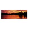 iCanvasArt Panoramic Lake at Sunset, Vermont Photographic Print on Canvas