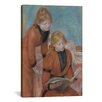 <strong>'La Lecture 1889' by Pierre-Auguste Renoir Painting Print on Canvas</strong> by iCanvasArt
