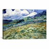 iCanvas 'Landscape at Saint-Remy' by Vincent Van Gogh Painting Print on Canvas