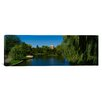 iCanvasArt Panoramic Boston Public Garden, Massachusetts Photographic Print on Canvas
