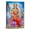 iCanvasArt Hindu Lakshmi Goddess Graphic Art on Canvas