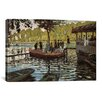 iCanvas 'La Grenouillere 1869' by Claude Monet Painting Print on Canvas