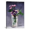 iCanvasArt 'Ragged Robins and Clematis' by Edouard Manet Painting Print on Canvas