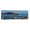 <strong>iCanvasArt</strong> Panoramic 'Alcatraz Island, San Francisco, California' Photographic Print on Canvas