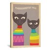 iCanvas 'Purfect Pals' by Anderson Design Group Graphic Art on Canvas