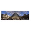 iCanvas Panoramic Louvre Pyramid, Paris, France Photographic Print on Canvas