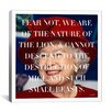iCanvasArt Queen Elizabeth Quote Canvas Wall Art