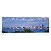iCanvas Panoramic Puget Sound, City Skyline, Seattle, Washington State Photographic Print on Canvas