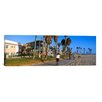 iCanvasArt Panoramic 'Venice Beach, City of Los Angeles, California' Photographic Print on Canvas