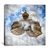"<strong>iCanvasArt</strong> ""Pantheon"" Canvas Wall Art by Sebastien Lory"