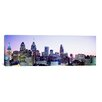 <strong>iCanvasArt</strong> Panoramic Philadelphia, Pennsylvania Photographic Print on Canvas