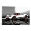 iCanvas Cars and Motorcycles Pagani Zonda Cinque Photographic Print on Canvas