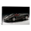 iCanvas Cars and Motorcycles Pagani Zonda F Roadster Photographic Print on Canvas