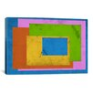 iCanvasArt Modern Art Homage to the Rectangle (After Albers) Painting Print on Canvas
