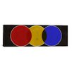 iCanvasArt Modern Art Street Light Graphic Art on Canvas