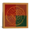 iCanvas Modern Art Indian Symbolism Luck and Prosperity Graphic Art on Canvas