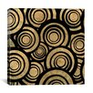 iCanvas Modern Art Overlapping Circle Pattern Graphic Art on Canvas