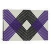 iCanvasArt Modern Art Intersecting Lozenge Graphic Art on Canvas