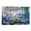 iCanvas 'Nympheas' by Claude Monet Painting Print on Canvas