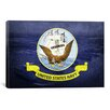 <strong>Flags Navy Aircraft Carriers USS Enterprise Graphic Art on Canvas</strong> by iCanvasArt