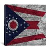 iCanvas Flags Ohio Graphic Art on Canvas