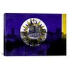 iCanvas Flags Nashville City Skyline Graphic Art on Canvas
