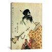 iCanvas 'Musicienne' by Katsushika Hokusai Painting Print on Canvas