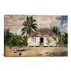 iCanvas 'Native Huts, Nassau' by Winslow Homer Painting Print on Canvas